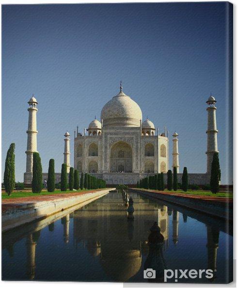 Cuadro en Lienzo Taj mahal indias agra - Estilos
