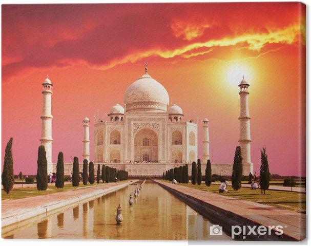 Cuadro en Lienzo Taj Mahal Palace en India -