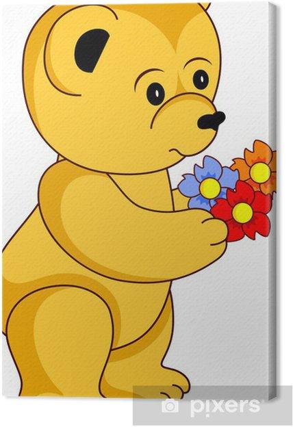 Cuadro en Lienzo Teddy bear - Mamíferos