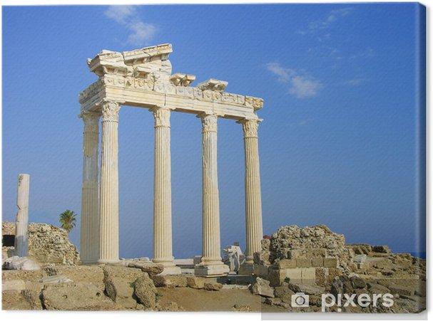 Cuadro en Lienzo Templo de Apolo, cara, Turquía - Europa