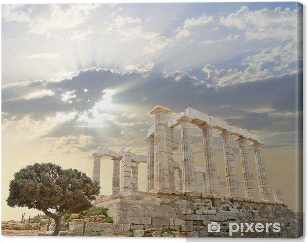 Cuadro en Lienzo Templo de Poseidon - Temas