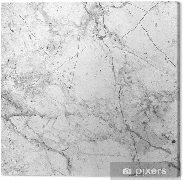 Cuadro en Lienzo Textura de mármol blanco (high.res.) - Texturas