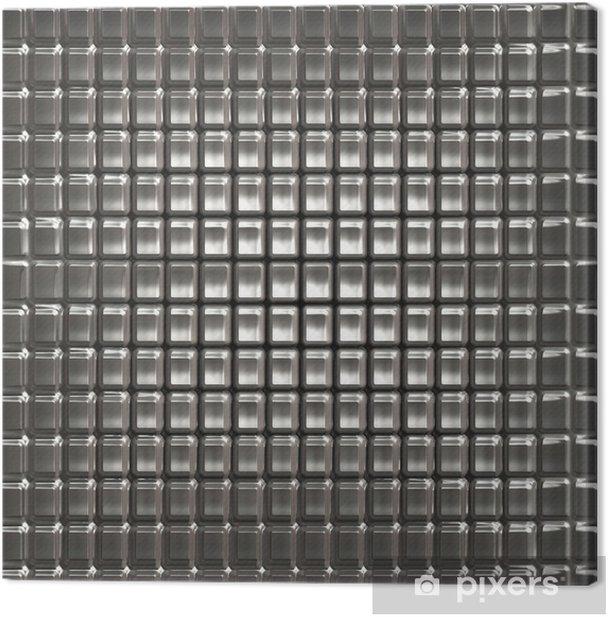 Cuadro en Lienzo Textura de metal -