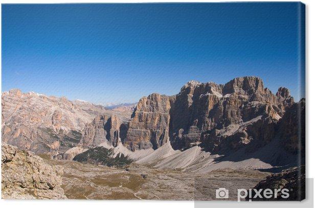 Cuadro en Lienzo Tofane - Dolomiten - Alpen - Europa