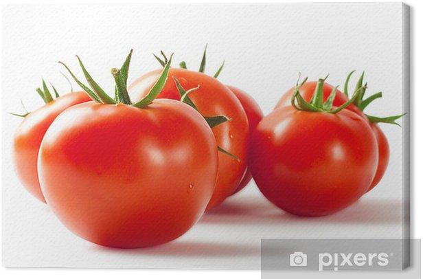 Cuadro en Lienzo Tomates maduros rojos - Temas
