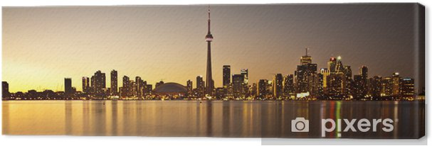 Cuadro en Lienzo Toronto Skyline - América