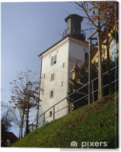 Cuadro en Lienzo Torre zagreb - Europa