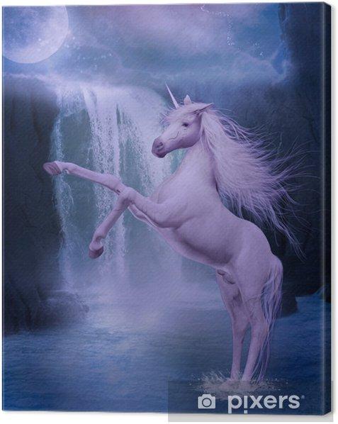 Cuadro en Lienzo Último unicornio - Temas