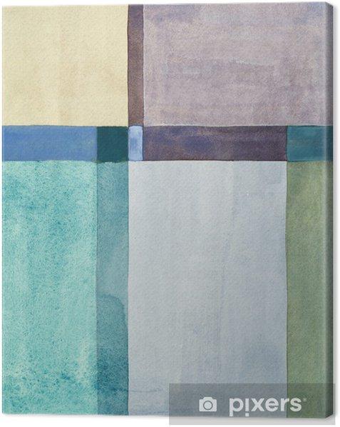 Cuadro en Lienzo Una pintura abstracta minimalista - Artes y creación