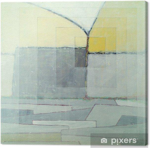 Cuadro en Lienzo Una pintura abstracta - Tiempo