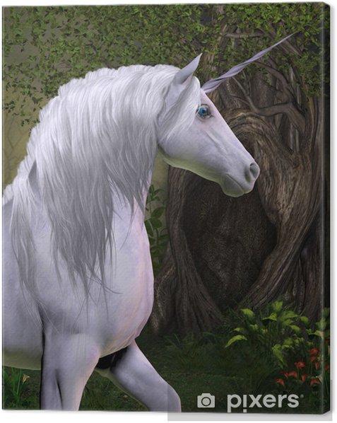 Cuadro en Lienzo Unicorn Horse - Temas