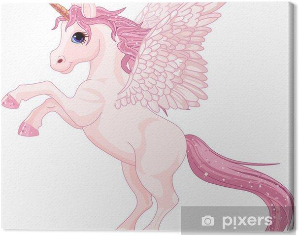 Cuadro en Lienzo Unicorn Pegasus - Animales