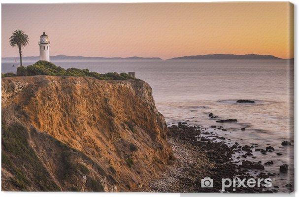 Cuadro en Lienzo Vicente Point, Rancho Palos Verdes, Los Angeles California, USA - Temas