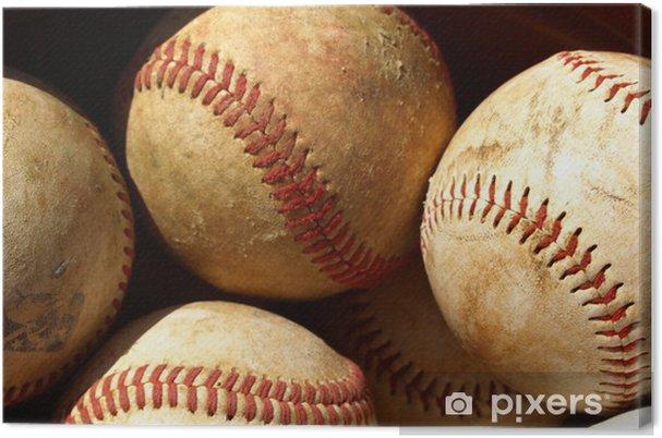 Cuadro en Lienzo Viejo béisbol - Campos