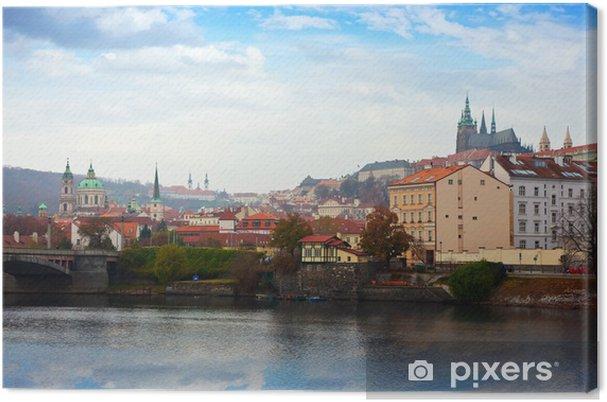 Cuadro en Lienzo Vista de Praga - Europa
