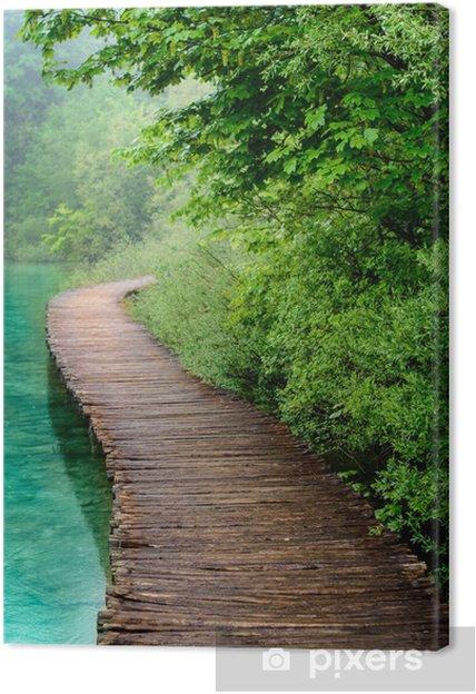 Cuadro en Lienzo Wooden bridge - Temas