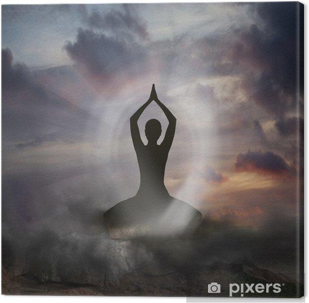 Cuadro en Lienzo Yoga y Espiritualidad - Salud