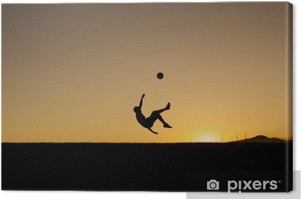 Cuadro en Lienzo Zamani del futbol - Partidos y competiciones