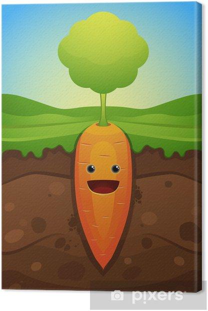 Cuadro En Lienzo Zanahoria Feliz Pixers Vivimos Para Cambiar La zanahoria es la hortaliza perteneciente a la familia de las apiáceas de mayor consumo por sus numerosas propiedades y beneficios, así como por todos los nutrientes y vitaminas que contienen las. pixers