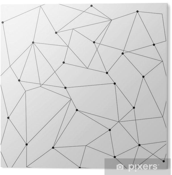 Cuadro en PVC Modernos patrón transparente geométrica escandinavo - Recursos gráficos
