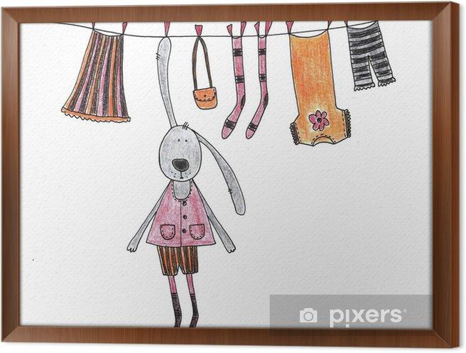 Cuadro Enmarcado Artwork - Juegos