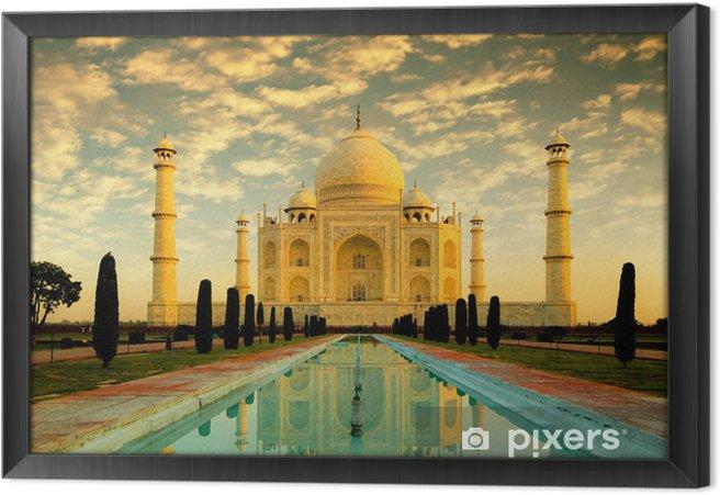 Cuadro Enmarcado Taj mahal - Asia