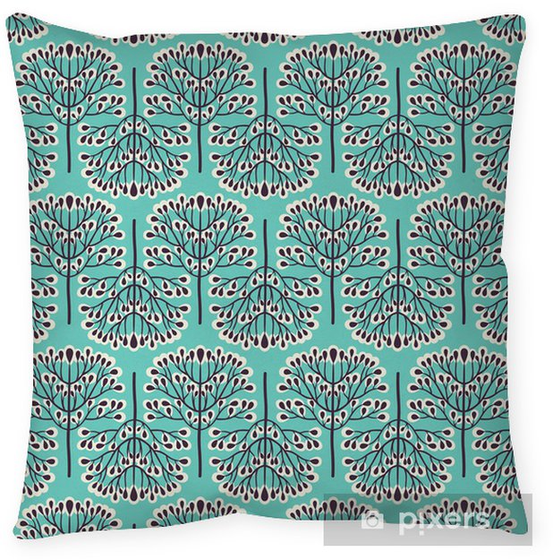 Cuscino decorativo Foresta Seamless pattern -