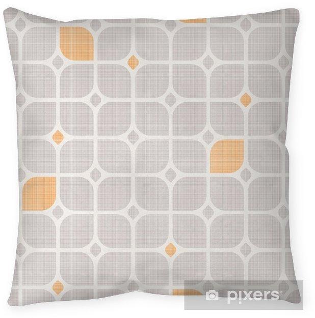Decoratief sierkussen Naadloze geometrische patroon - Grafische Bronnen
