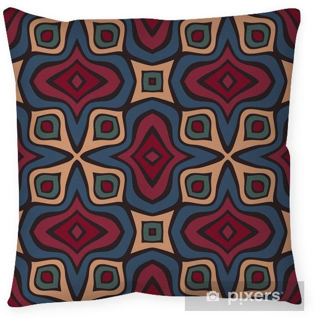 Decoratief sierkussen Naadloze patroon - Achtergrond