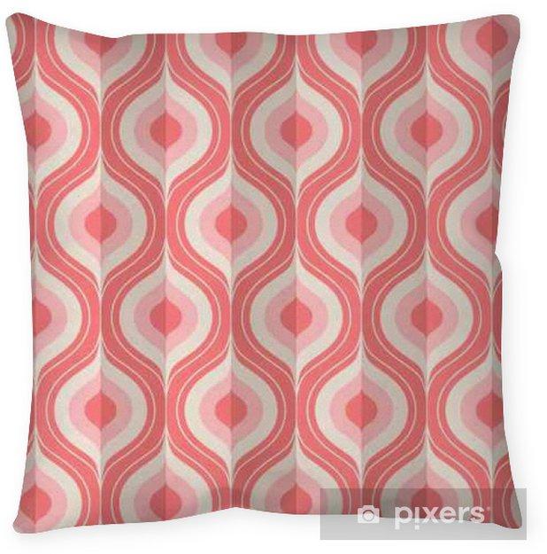 Decoratief sierkussen Naadloze vintage geometrisch patroon - Grafische Bronnen
