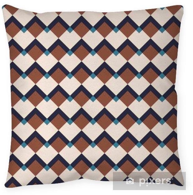 Decoratief sierkussen Vintage abstracte naadloze patroon - Grafische Bronnen