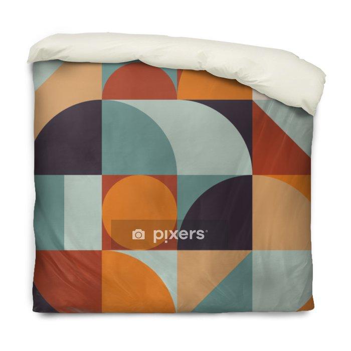 Dekbedovertrek Abstract geometrie patroonafbeelding 12 - Grafische Bronnen