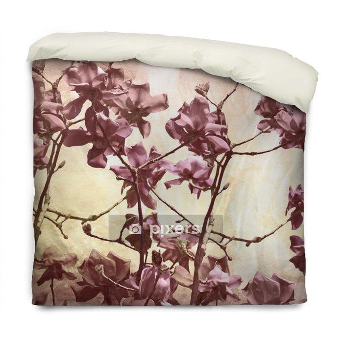 Dekbedovertrek Artistieke achtergrond met magnolia - Thema's