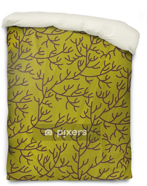Dekbedovertrek Bloemen textuur - Achtergrond