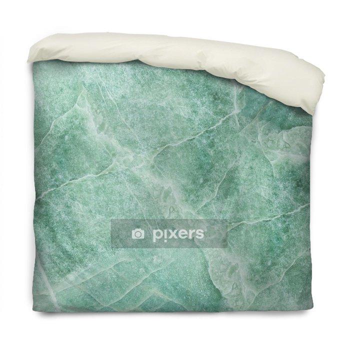 Dekbedovertrek Close-up oppervlakte abstract marmeren patroon bij de marmeren de textuurachtergrond van de steenvloer - Grafische Bronnen