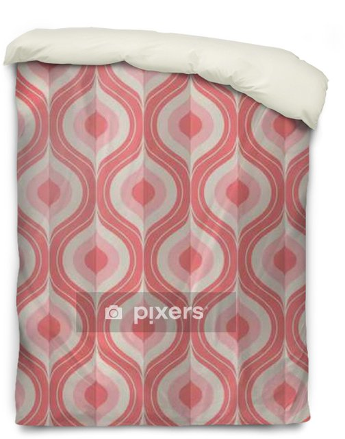 Dekbedovertrek Naadloze vintage geometrisch patroon - Grafische Bronnen