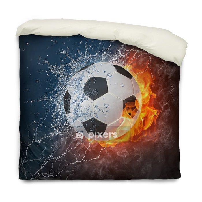 Dekbedovertrek Voetbal -