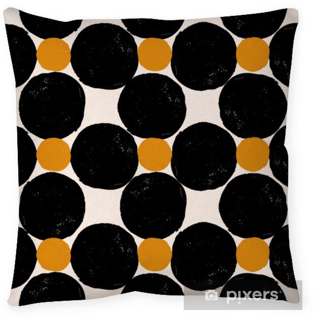 Dekorační polštář Abstraktní geometrický vzor - Grafika
