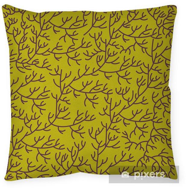 Dekorativ kudde Blommor konsistens - Bakgrunder