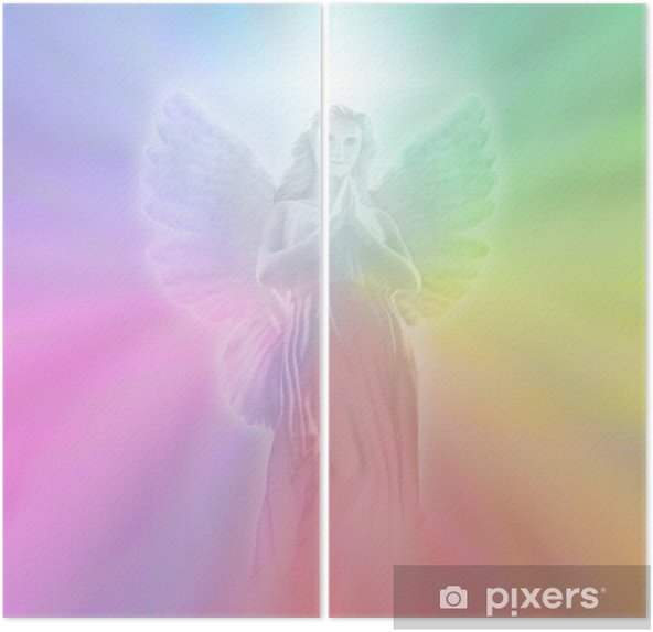 Díptico Angel of Divine Light, soft blur - Temas