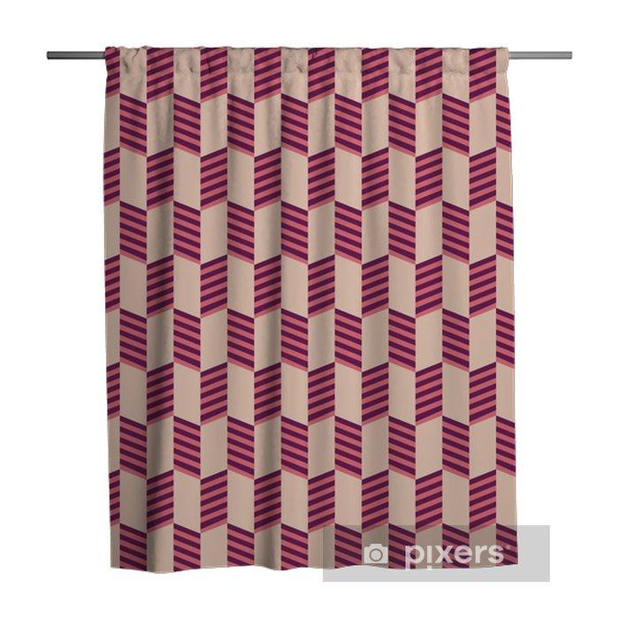 Douchegordijn Abstract geometrisch naadloos patroon. - Grafische Bronnen