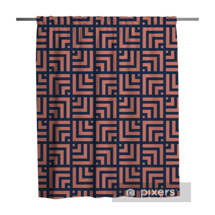 Douchegordijn Geometrische lijnen naadloze art deco-patroon. stijlvolle antieke achtergrond. - Grafische Bronnen