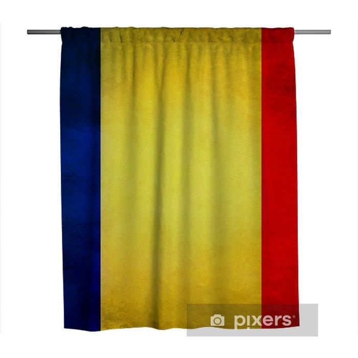 Douchegordijn Vlag van Roemenië - Grafische Bronnen