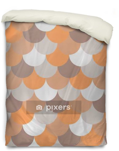 abstract seamless geometric pattern Duvet Cover - Graphic Resources