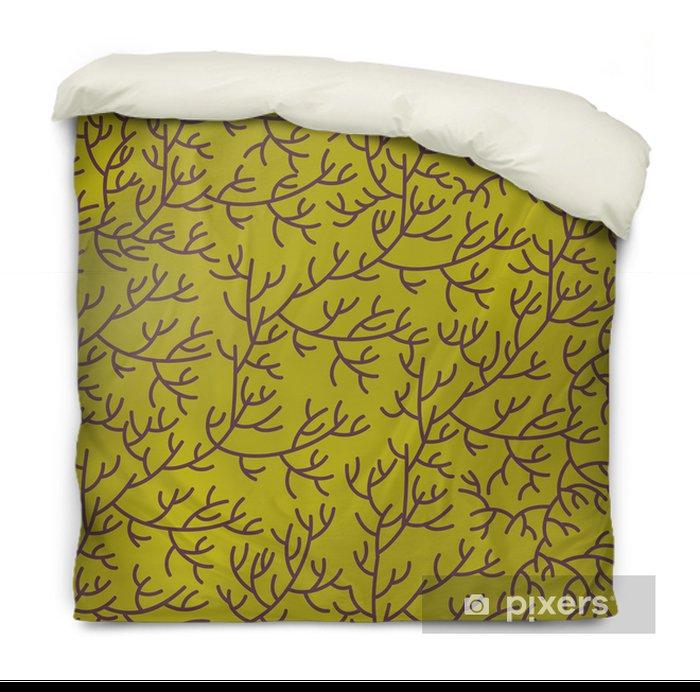 Floral texture Duvet Cover - Backgrounds
