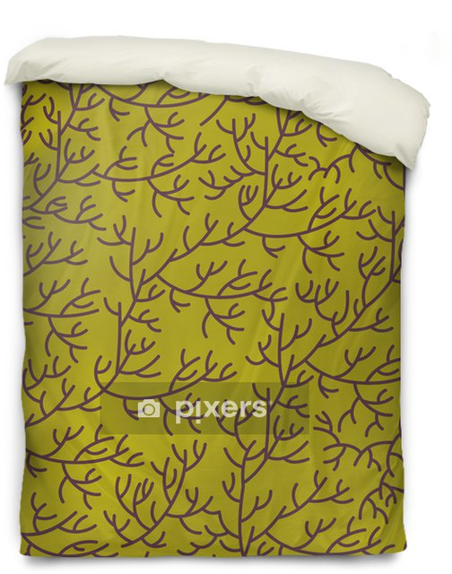 Floral texture Duvet Cover - Backgrounds
