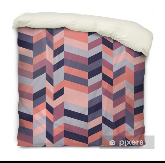 Herringbone Pattern Duvet Cover - Graphic Resources