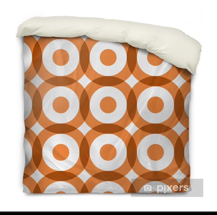 Repeating geometric seamless pattern. Vector illustration. Duvet Cover - Graphic Resources