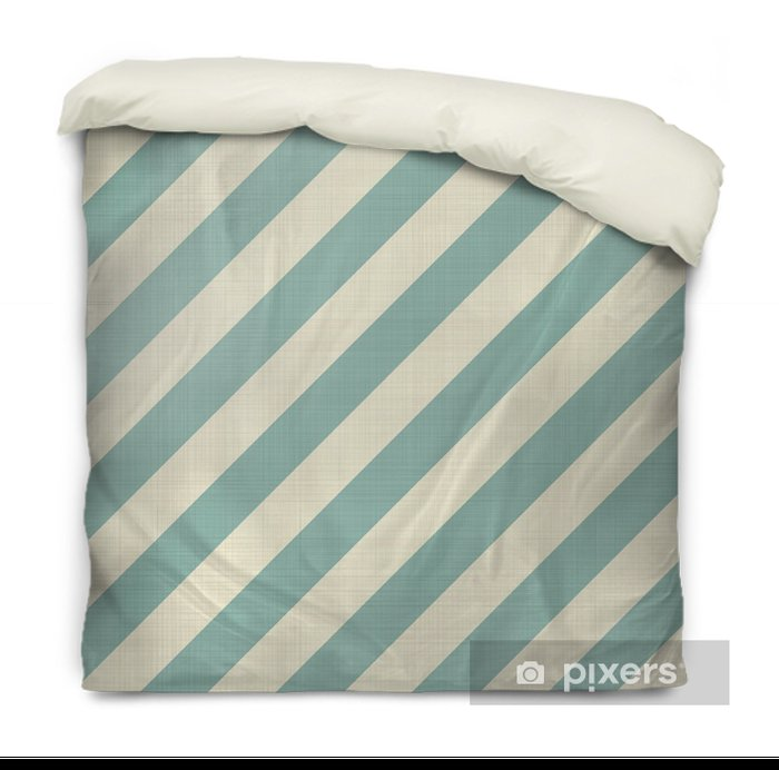 retro seamless geometric pattern Duvet Cover - Backgrounds