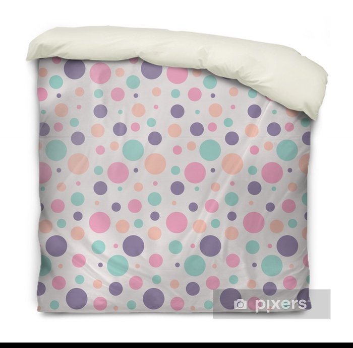 seamless dots pattern Duvet Cover - Graphic Resources